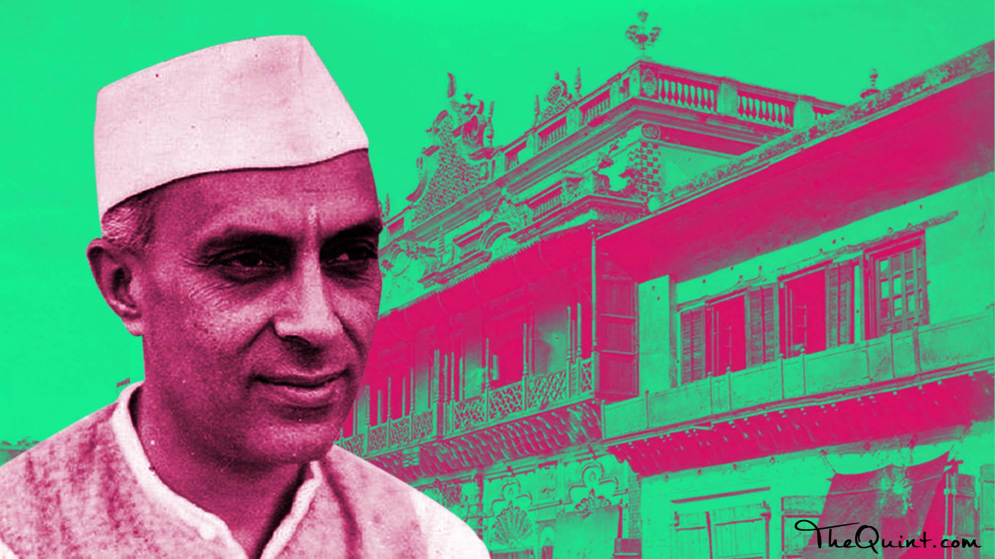 nehrucolored haqsar delhi old