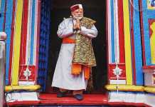 MODI AT KEDARNATH