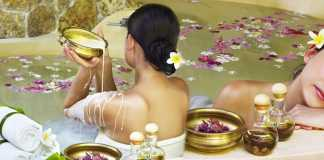bath aurveda postpartum