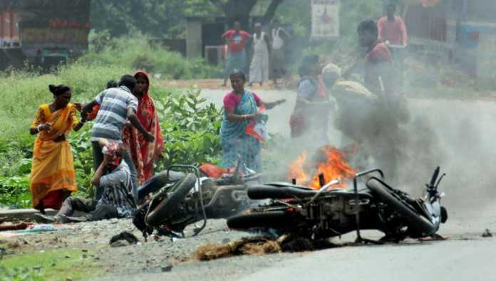 poll-day-violence-in-west-bengal