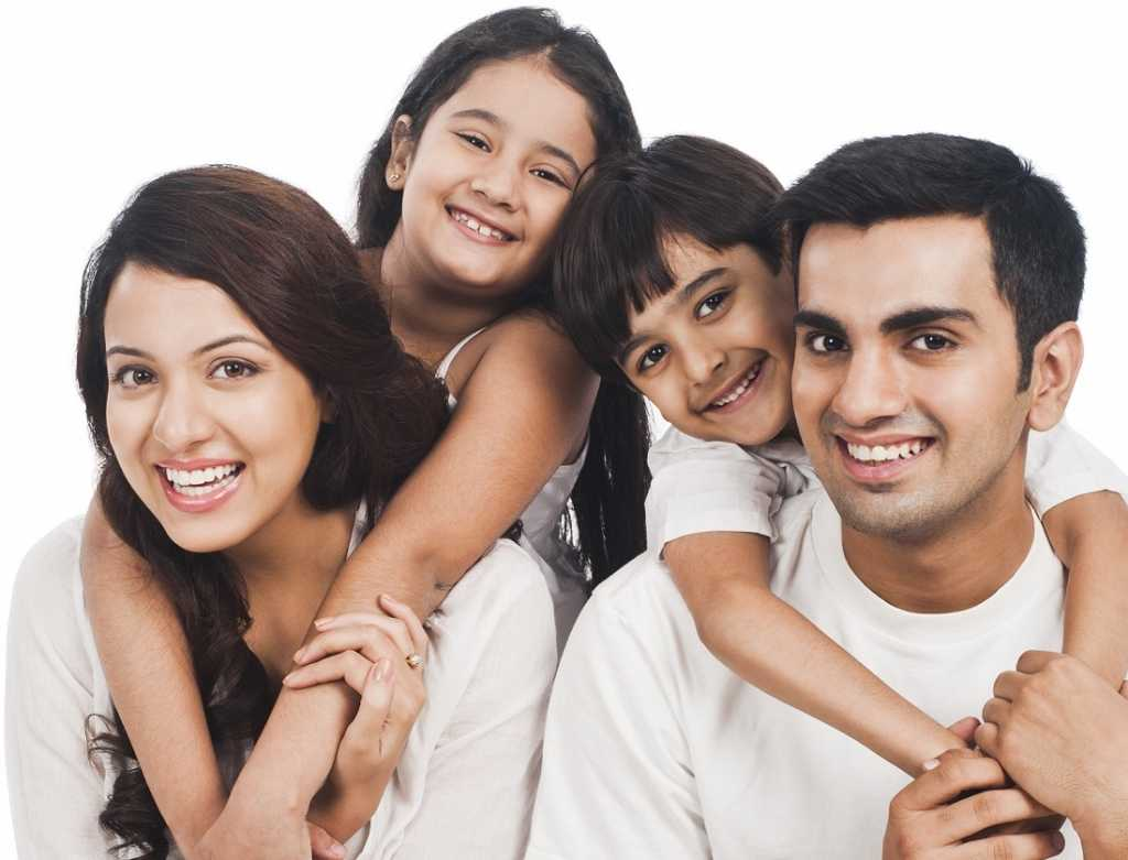 Indian-family