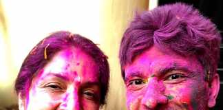 Neena Gupta and Vikas Khanna
