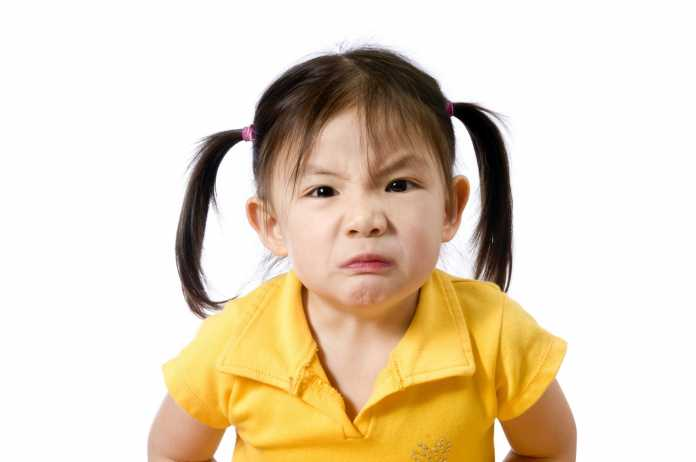 tantrum and mood swings in kids