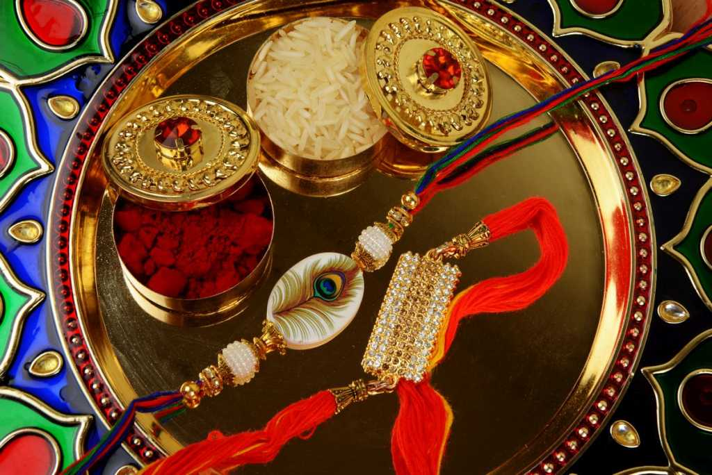 Raksah Bandhan or Rakhi, Indian festival for brothers and sisters