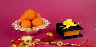 Raksah Bandhan or Rakhi, Indian festival for brothers and sisters,