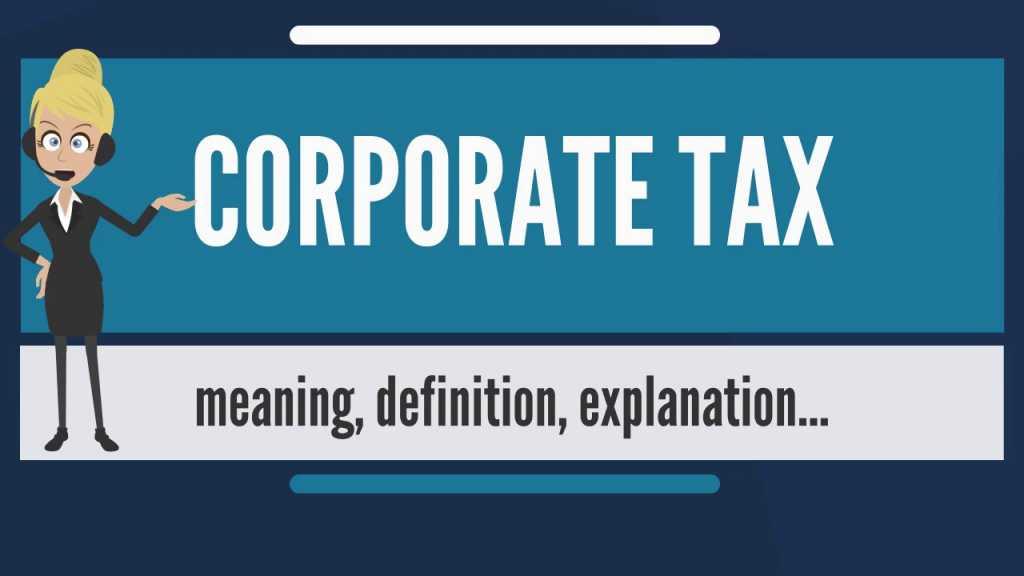 corporat tax