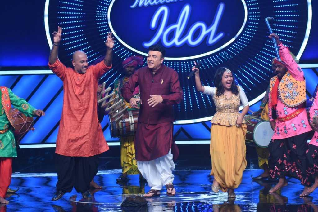 Bhangra Celebration at Indian Idol