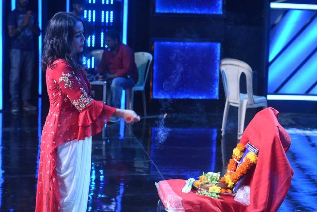 Shubh Aaramb of Indian Idol