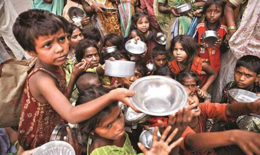 child india begging