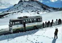 himachal rohtang snow