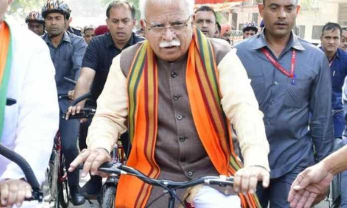 khattar on cycle