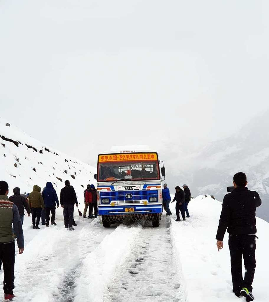 rohtang snow