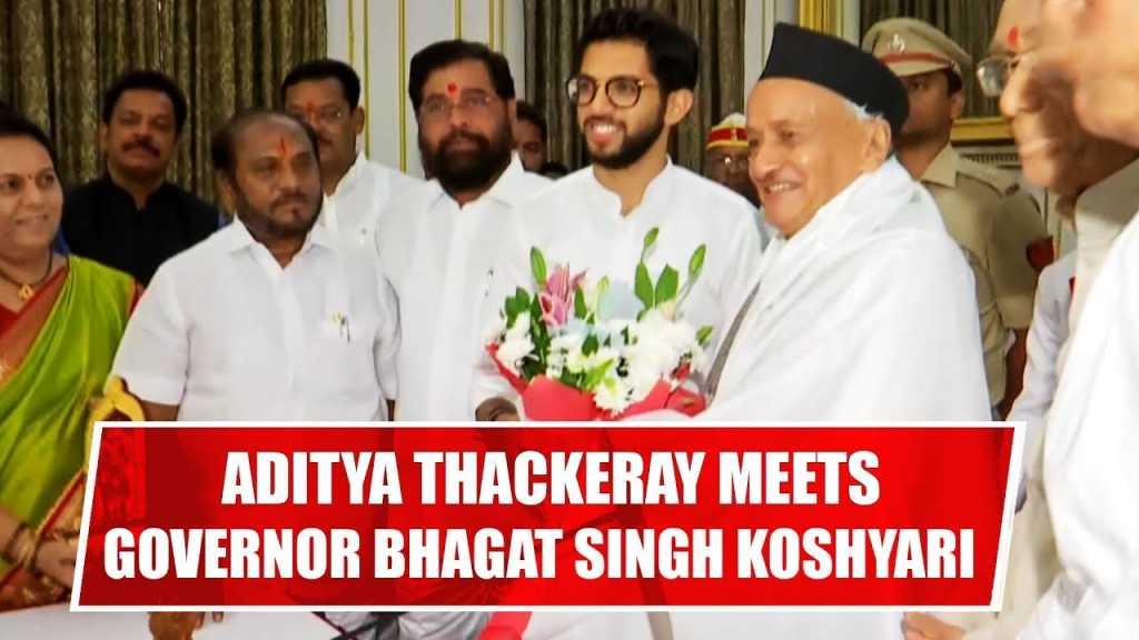 aditya meets koshyari