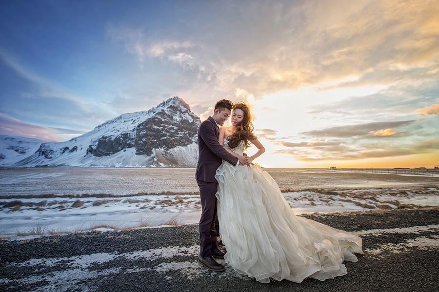 pre wedding photoshoot in ice cave indiamoods