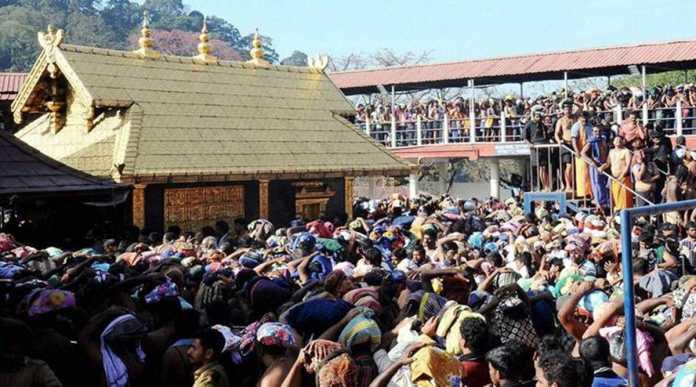 Sabarimala: Ayyappa devotees throng at Sannidanam in