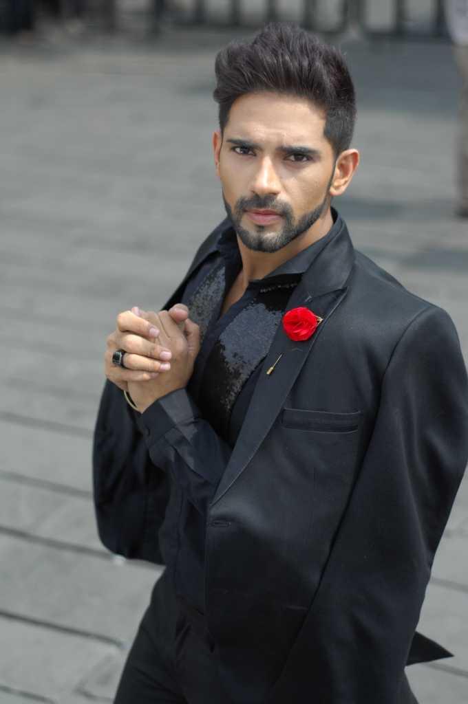 Ankit bathla new-in black