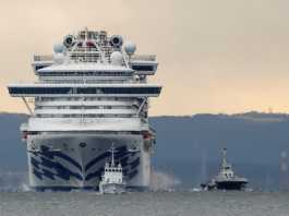 corona cruise japan 20 infected