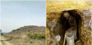 gold mine sonbhadra
