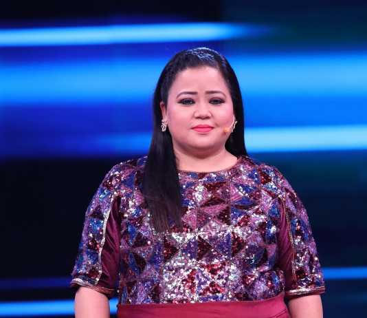 Bharti Singh on the sets of India's Best Dancer (2)