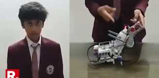 indian student creat hand sanitizer