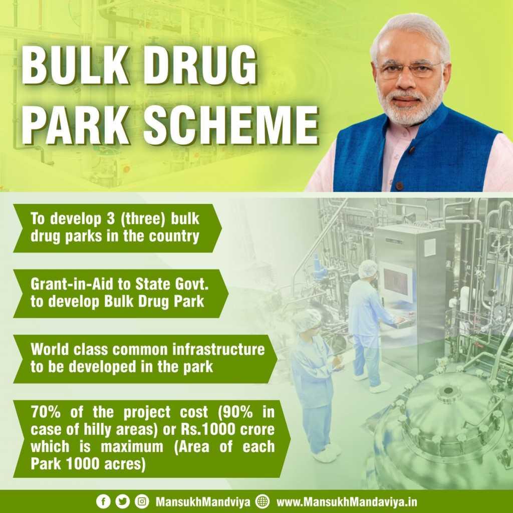 CM जयराम ने केंद्र से HP के लिए बल्क ड्रग पार्क मंज़ूर करने की मांग की